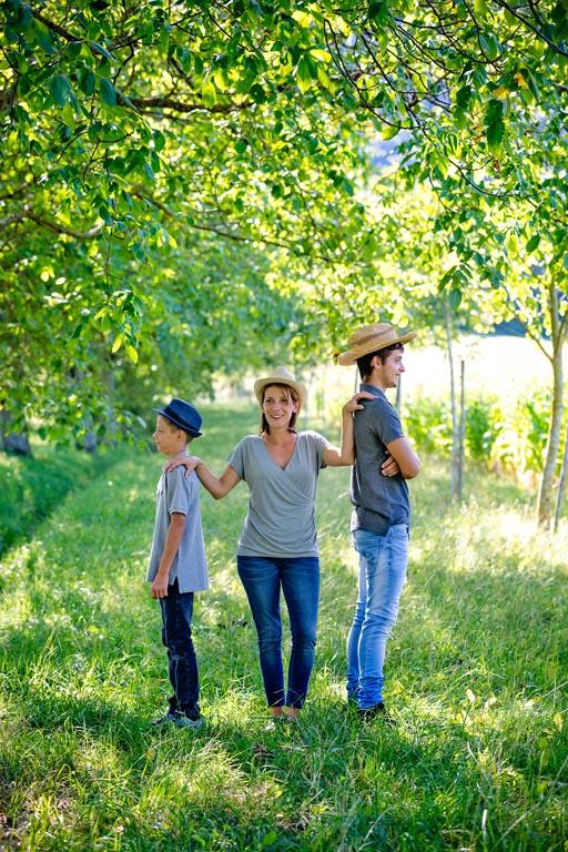 Photographe portrait de famille Haute-Savoie et genève
