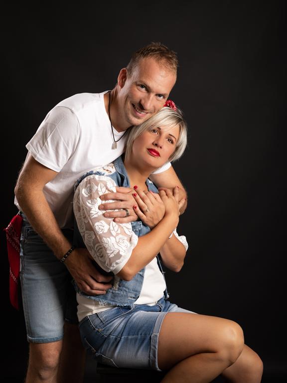 Photos portrait couple - Studio Minzier - Haute-Savoie