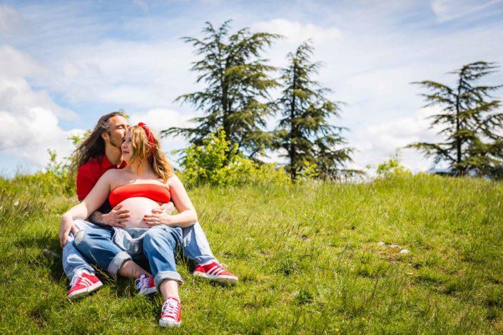 Photographe de grossesse et maternité - Haute-Savoie 74 - Annecy - Minzier - Chaumont - Genève